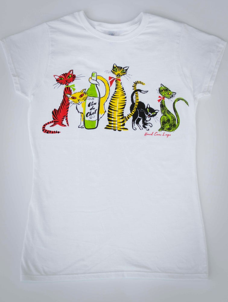 Image of Cat Crazy Ladies T-Shirt