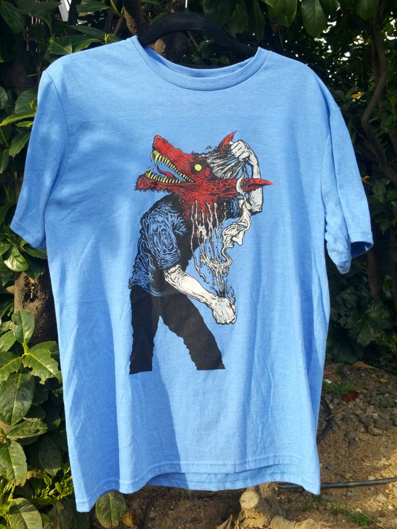 Image of True Face (shirt) - blue