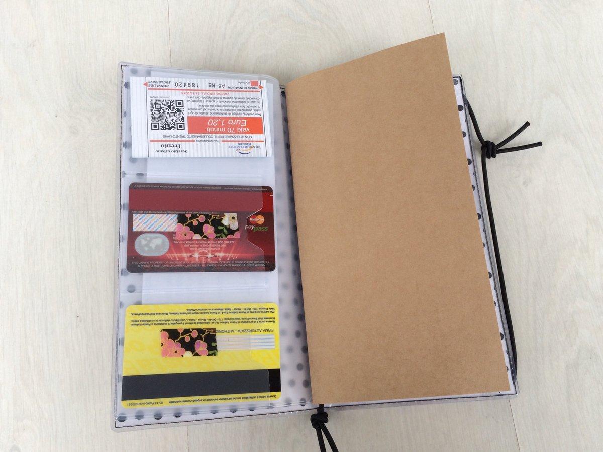 Tasche per Midori/Traveler's Notebook