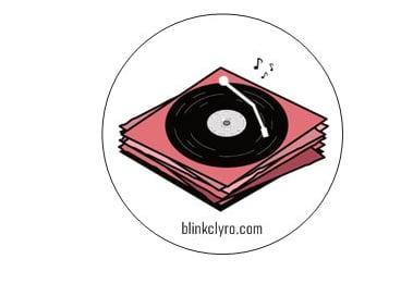 Image of blinkclyro sticker