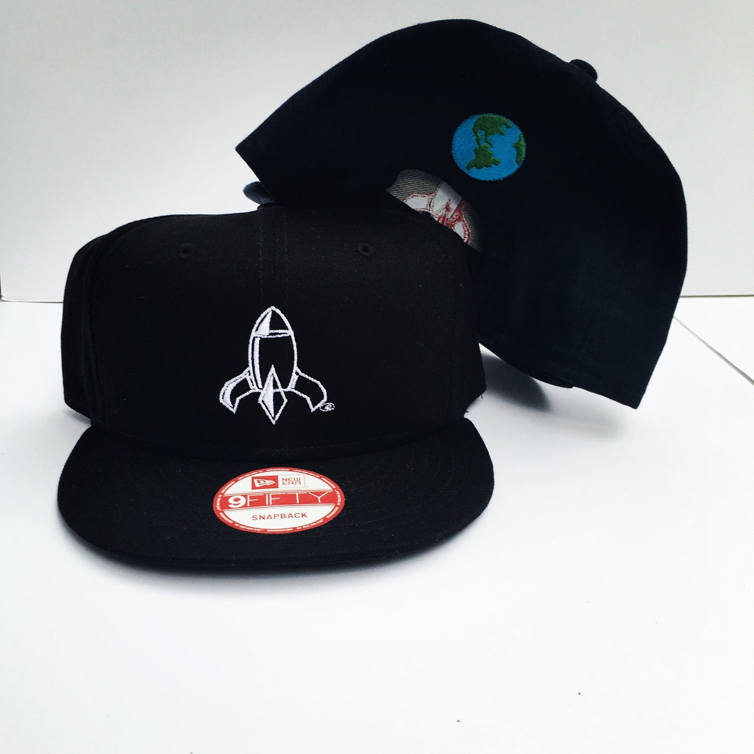 Image of Abstract Rocketship SnapBack