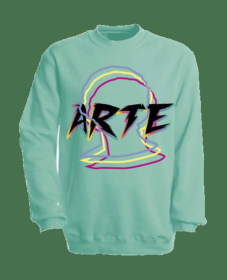 Image of ART SWEATSHIRT Turquoise