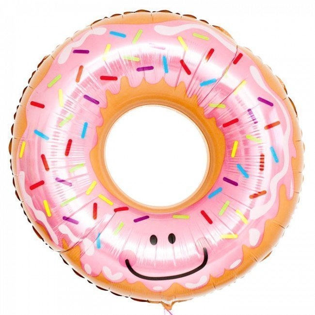 Image of {Pink Glazed Donut} Balloon