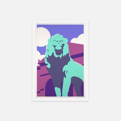 BRONZE LION - Sorry.