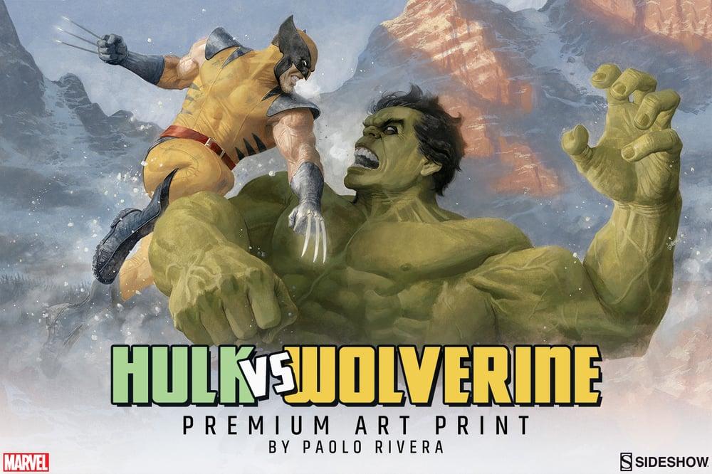 Image of Hulk vs. Wolverine