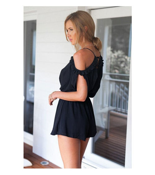 Image of Lilly Playsuit Black