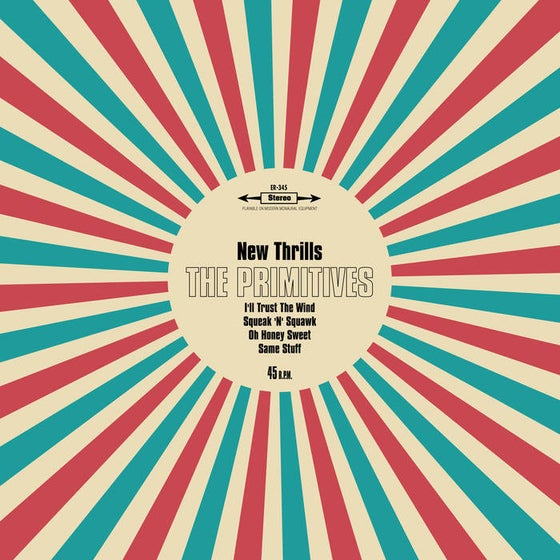 "Image of New Thrills 4 track 10"" vinyl"