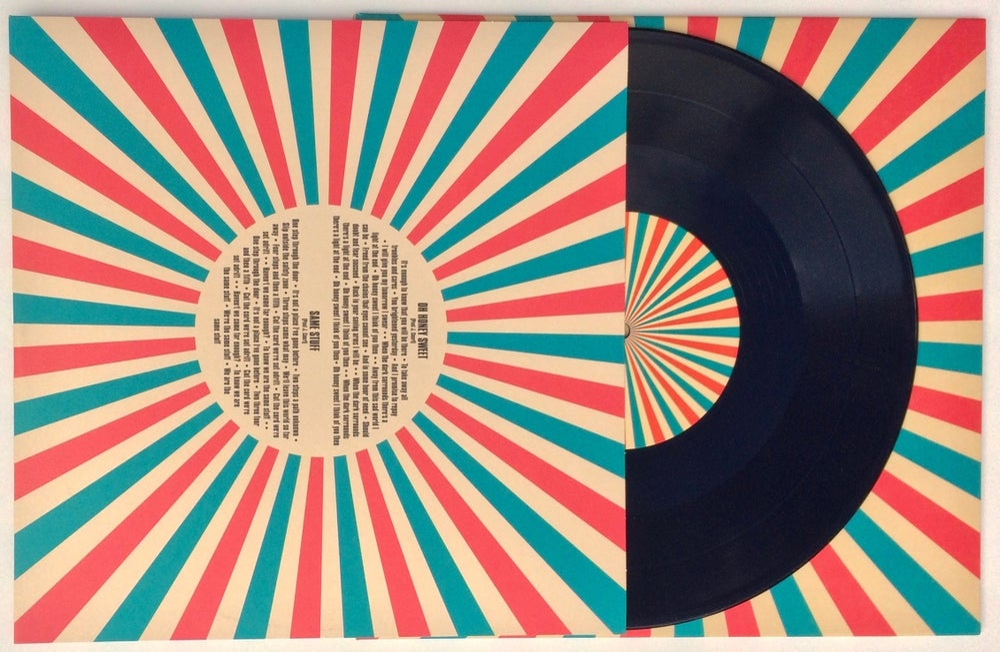"Image of New Thrills 4 track 10"" vinyl"