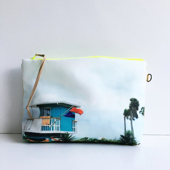 Image of 46th Street Miami Beach Pouch L