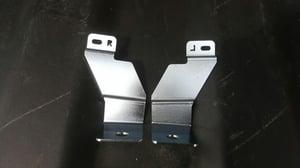 Image of Armrest Brackets 3DR 90-91 Hatchback