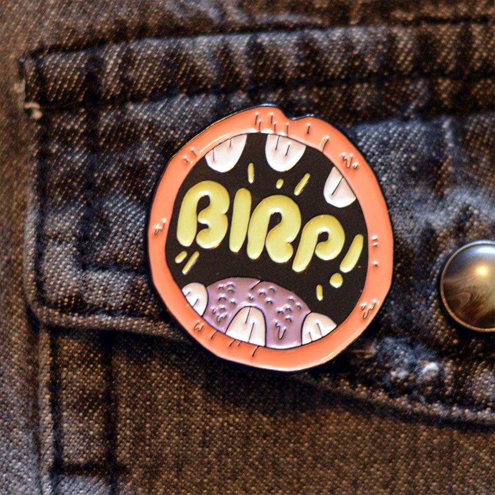 "Image of 1.25"" BIRP! Soft Enamel Pin"