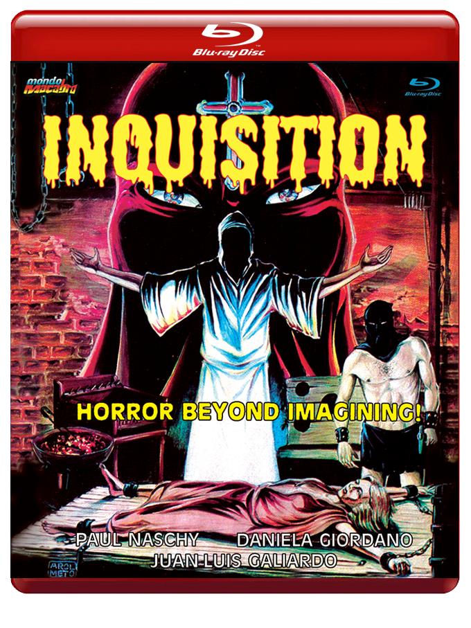 Image of INQUISITION - Red Case Limited Edition Blu-ray