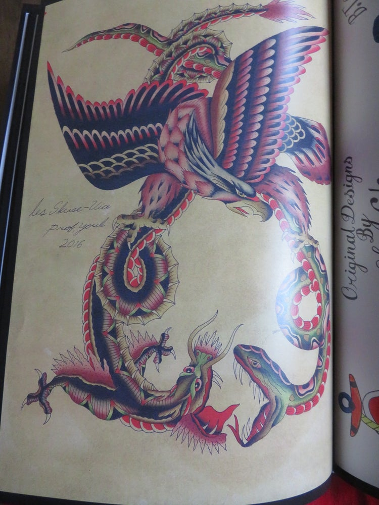 Bristol Tattoo Club — Les Skuse Tribute Book of Flash Tattoo Designs