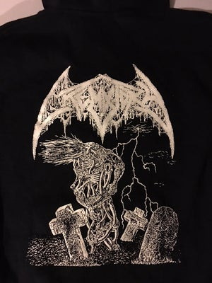 "Image of Crematory "" Wrath from the Unknown "" Hooded Sweatshirt"