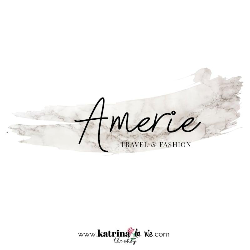 Image of Amerie Premade Logo