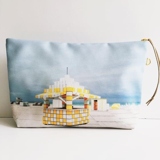 Image of Yellow Miami Beach Pouch XL
