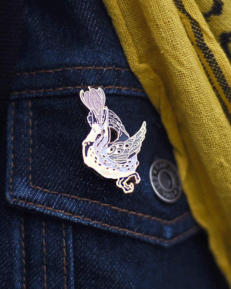 Image of Meadowlarks' Song Enamel Pin