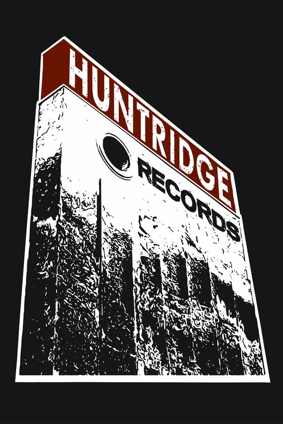 Image of Huntridge Records Poster