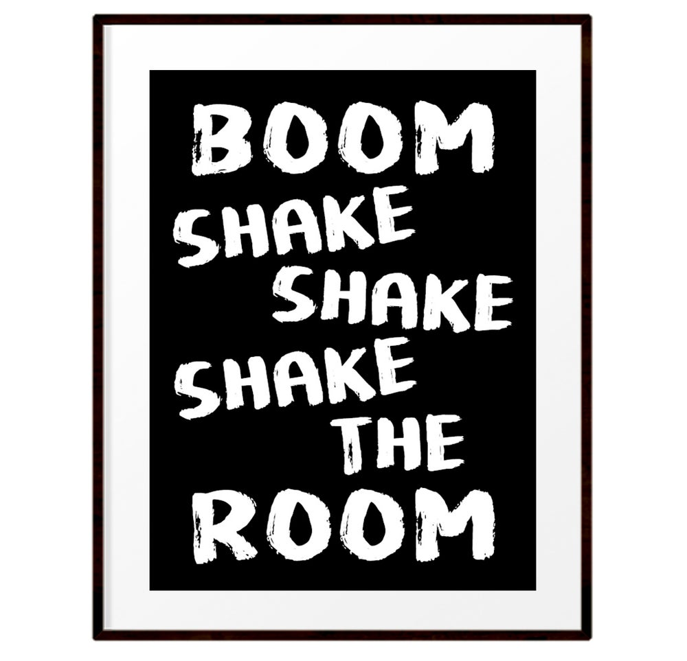 Image of Boom shake shake