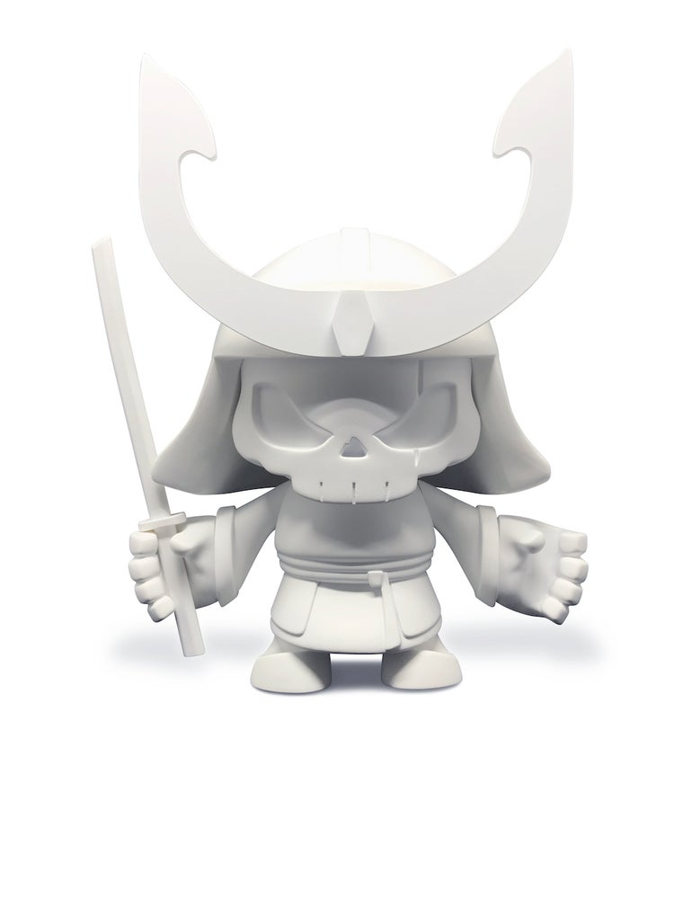 Image of (SOLD OUT) Skullhead Samurai - Blank Edition