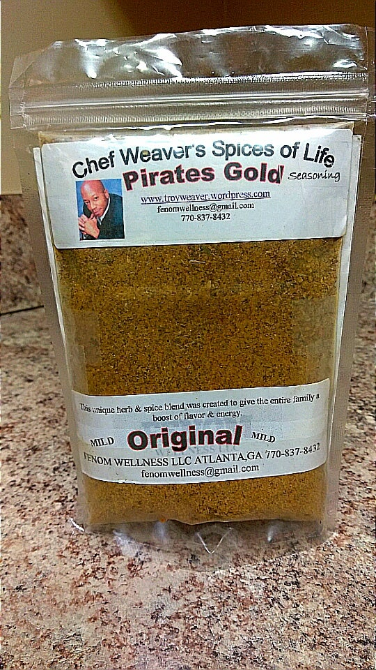 Image of (Original) Chef Troy's Pirates Gold Seasoning (4oz Bag)