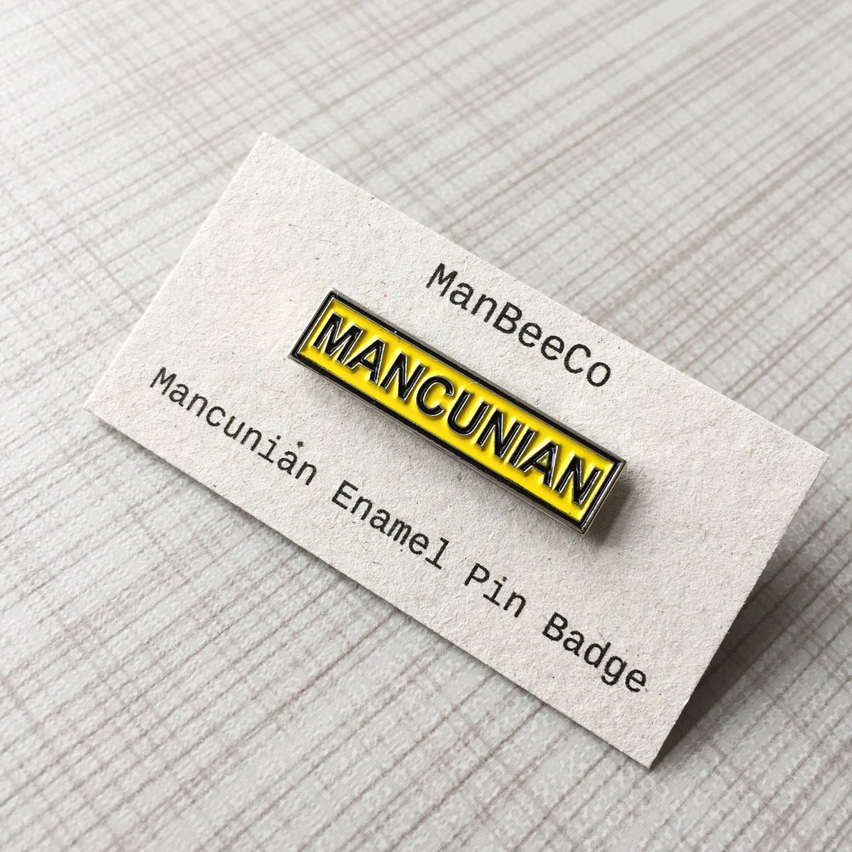 Image of Mancunian Enamel Pin Badge