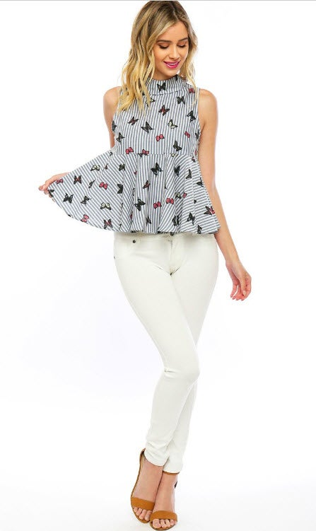 Image of Hope Peplum Top