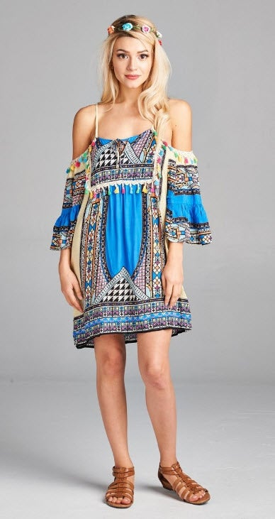 Image of Curvy Boho Tunic