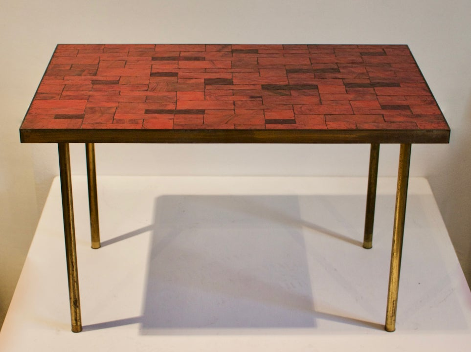 Image of Mosaic Side Table by Berthold Müller, Germany