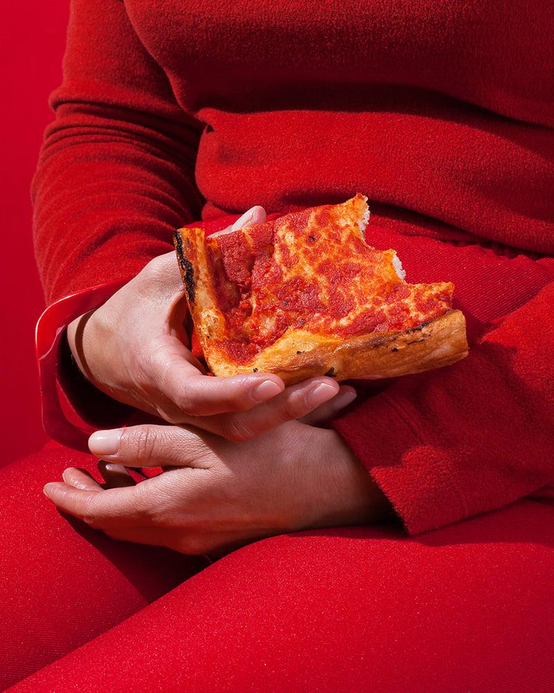 Image of Wardrobe Snacks - Sicilian Pizza