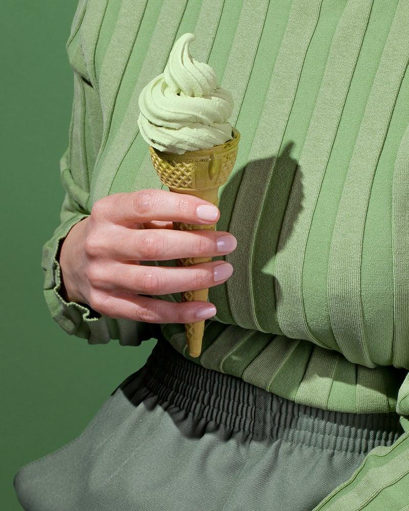 Image of Wardrobe Snacks - Matcha Soft Serve