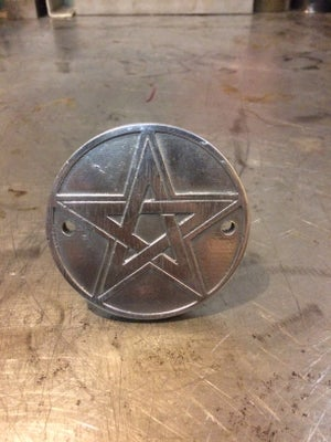 """Image of Mindwar Cycles Cast Aluminum """"Star"""" Points/Timing Cover"""