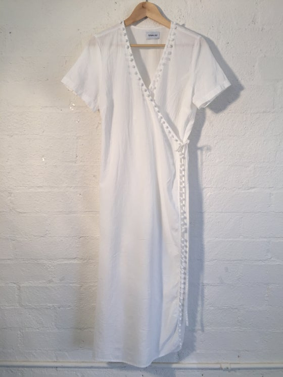Image of Sam & Lavi Godiva wrap Dress