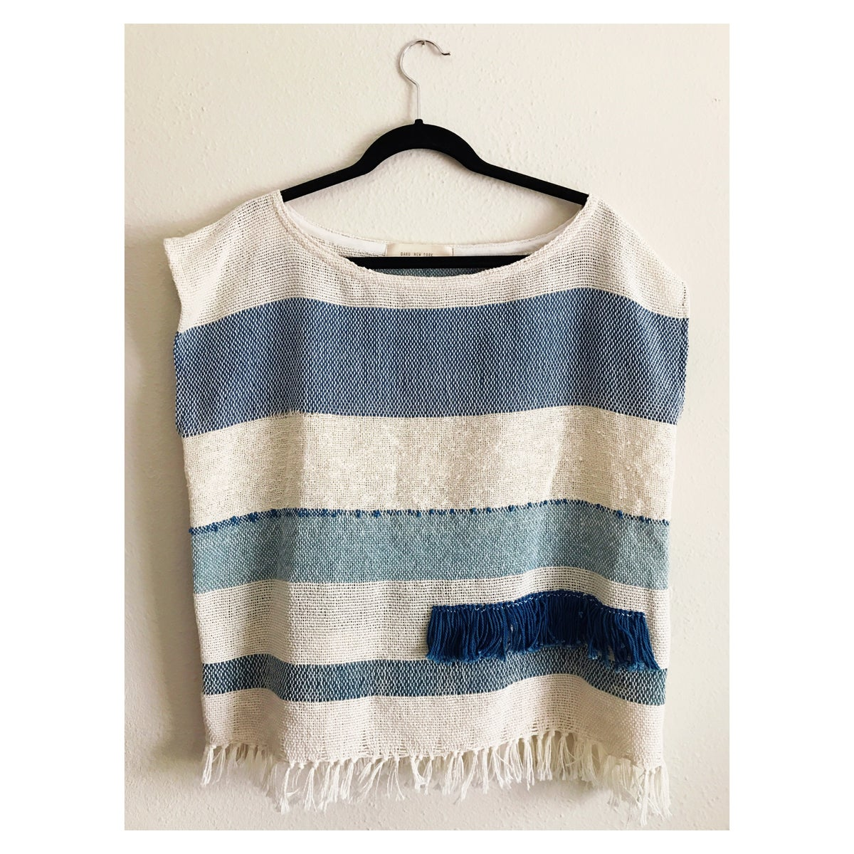 Image of Indigo Fringe Top