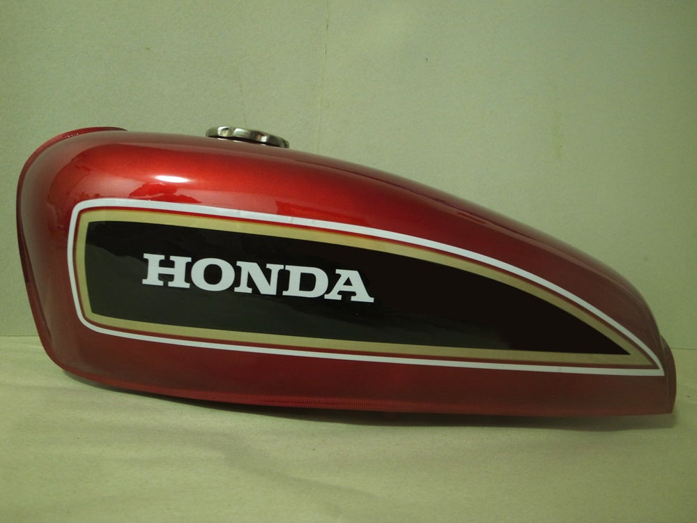 Image of Classic Cafe Racer Fuel Tank