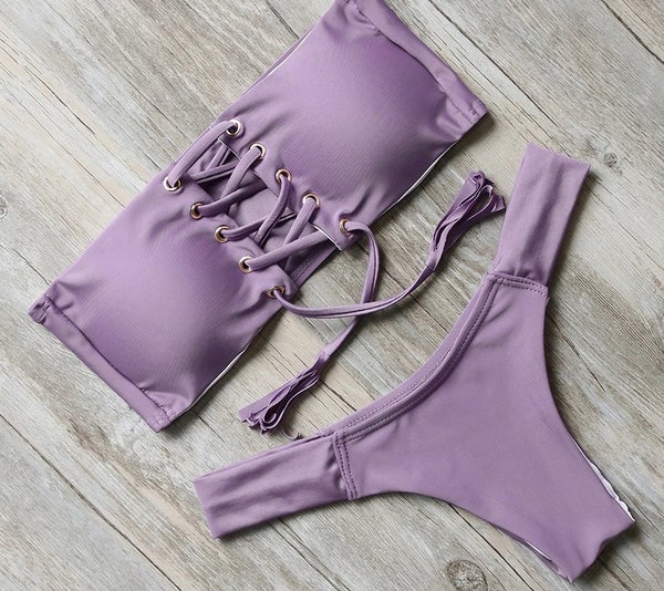 Image of PURPLE BANDEAU KINI