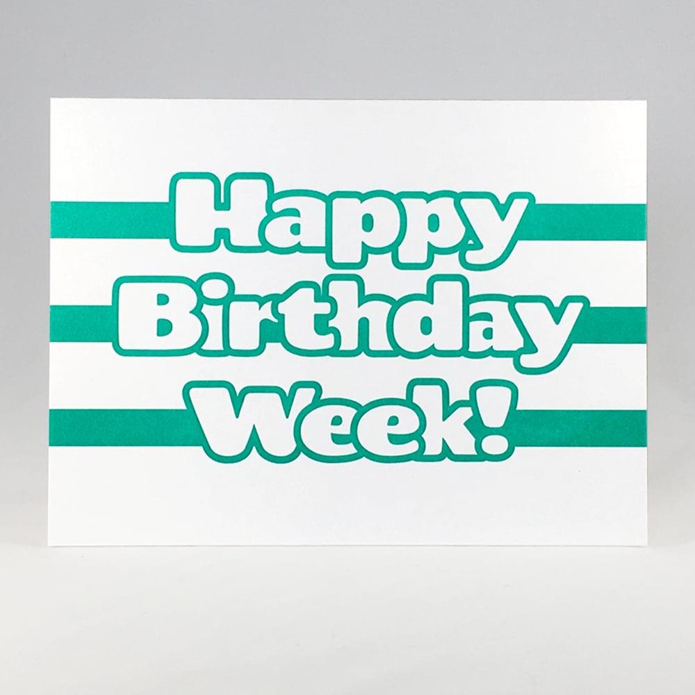 Image of Happy Birthday Week!