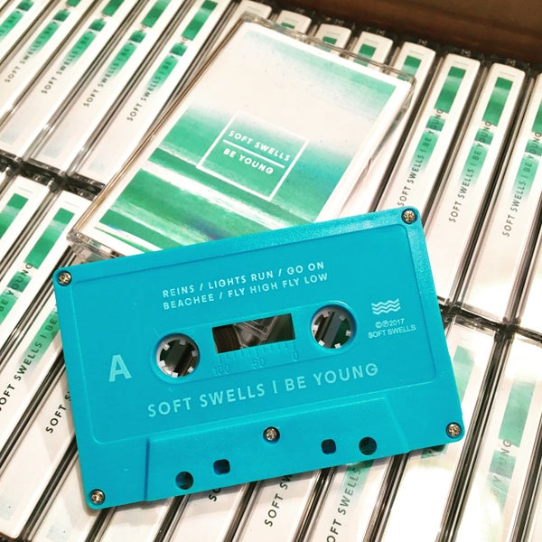"Image of Soft Swells ""Be Young"" Cassette"
