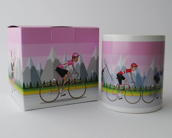 Image of Giro d'Italia mug and box giftpack