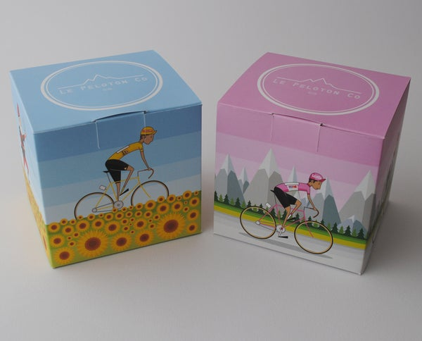 Image of Tour de France and Giro d'Italia gift pack