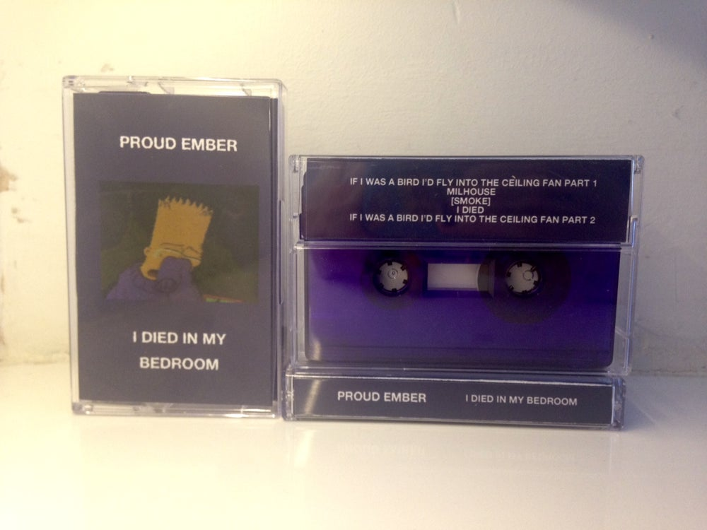 Image of Proud Ember - I Died In My Bedroom [Fluorescent Purple Cassette /20]