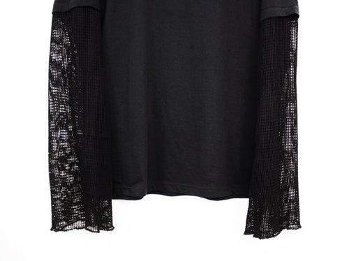 Image of SNIPER MESH SLEEVE - TACTICAL TEE - BLACK