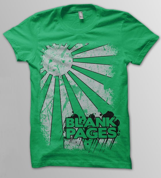 Image of Green Sunray T-Shirt