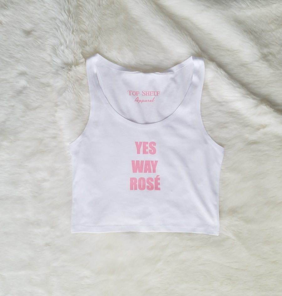 Image of YES WAY ROSE' crop tops