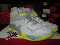 "Zoom LeBron Soldier VII (7) ""Wolf Grey/Sonic Yellow"" - FAMPRICE.COM by 23PENNY"