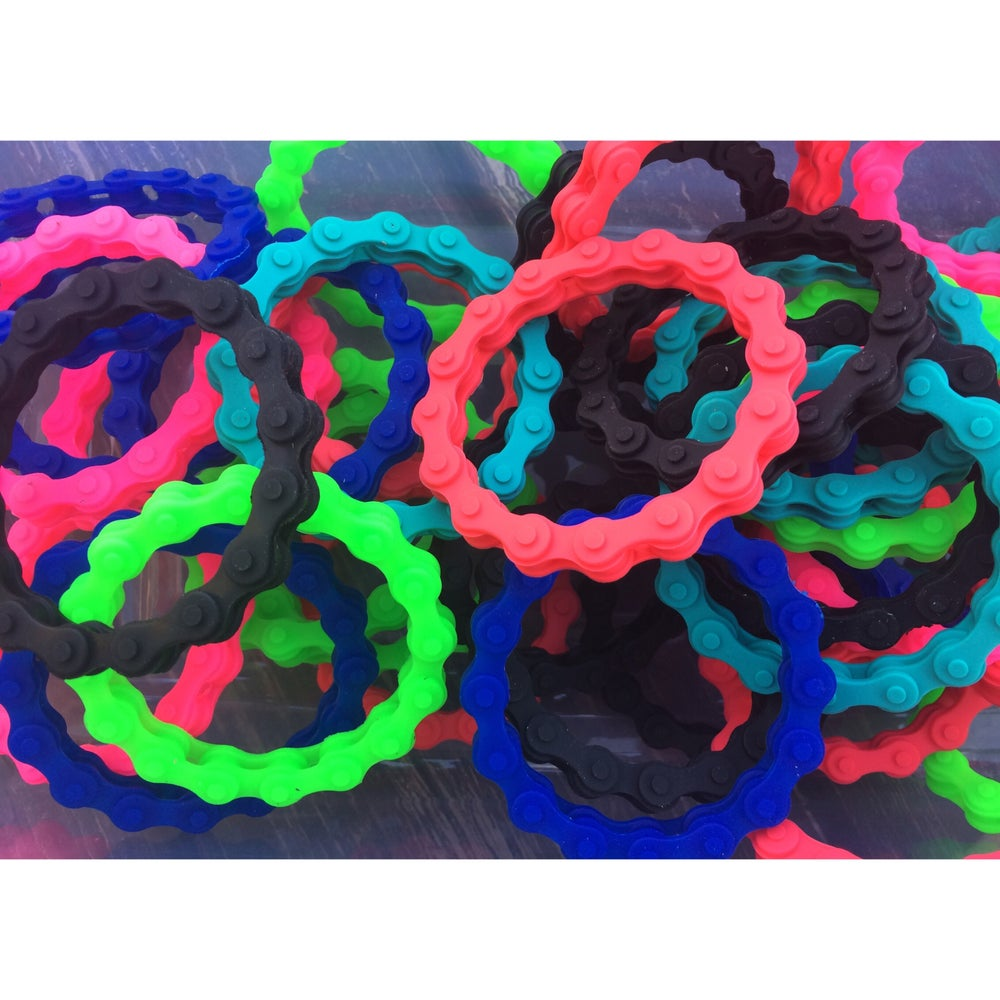 Image of Rubber Band Chain Bracelet