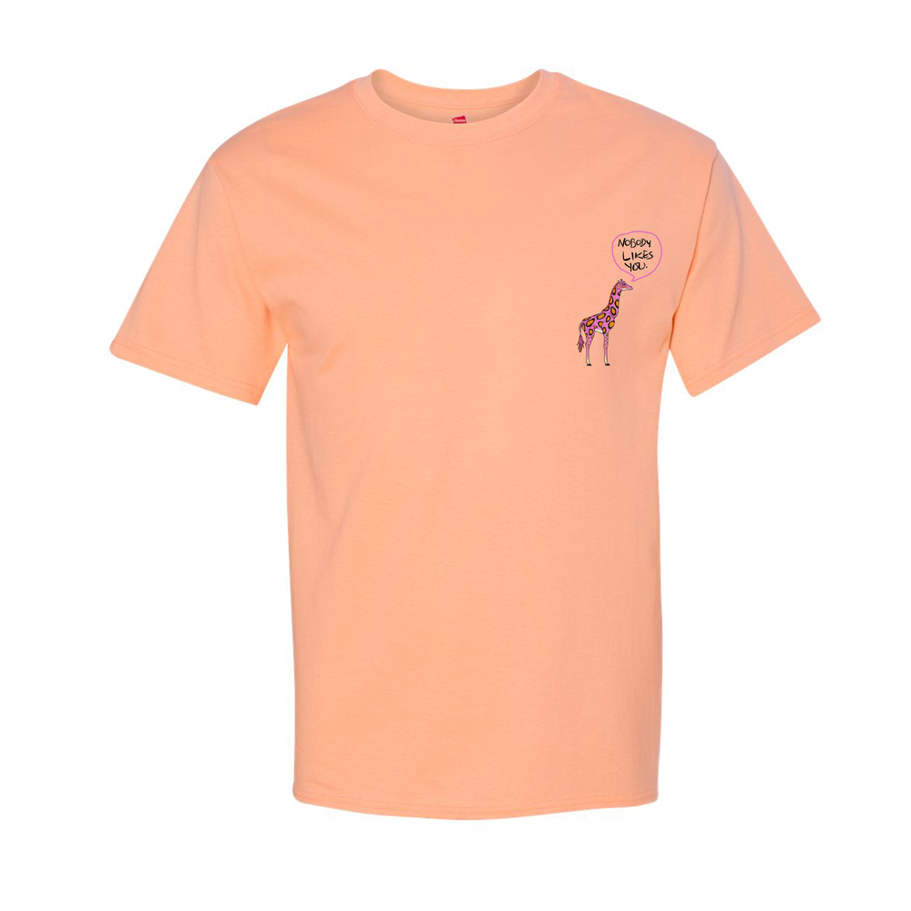 """Image of """"Joseph Chilliams Loves You"""" Shirt in Peach"""