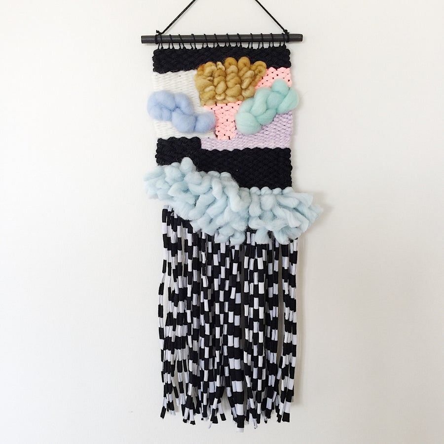 Image of Woven Wall Hanging - Liquorice Sticks II