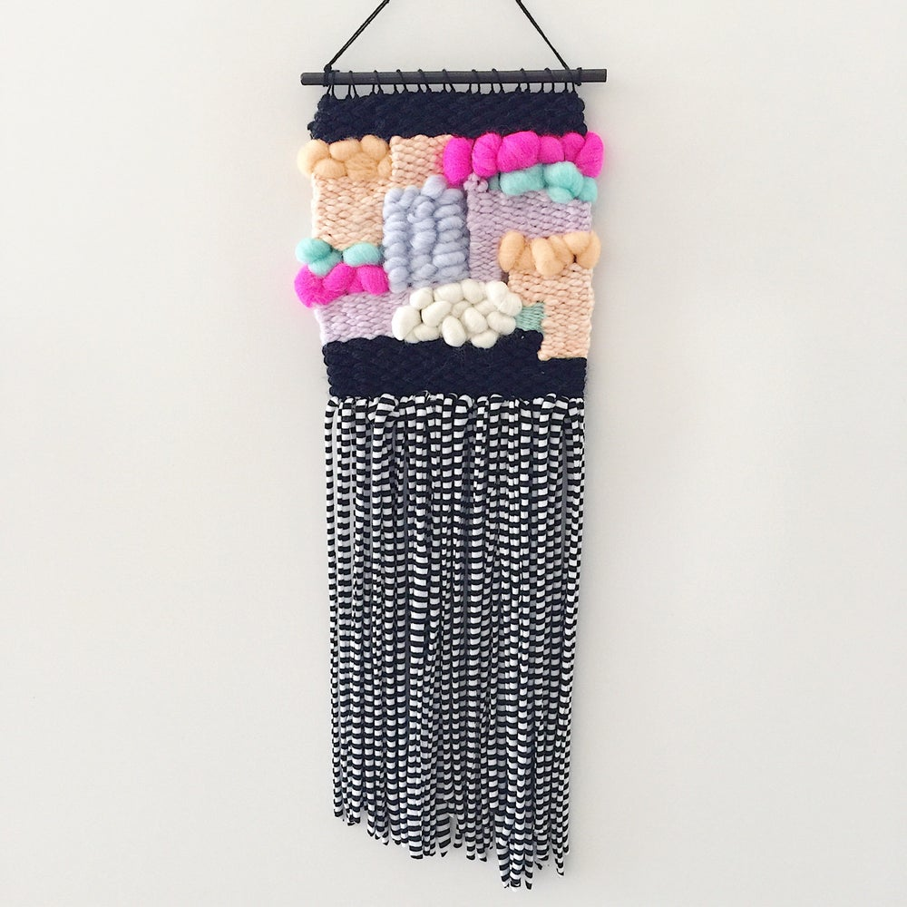 Image of Woven Wall Hanging - Twinsie