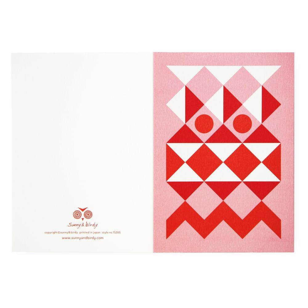 Image of Single card - santa fe
